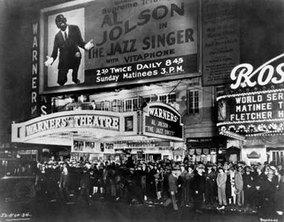 The Jazz Singer opening night
