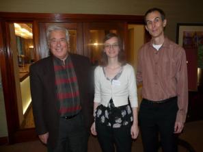 With Michael Freedland, Jolson biographer