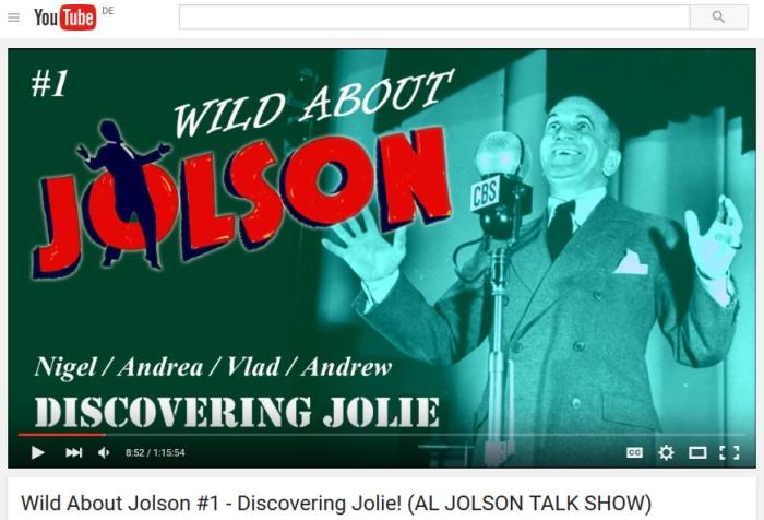 wild about jolson